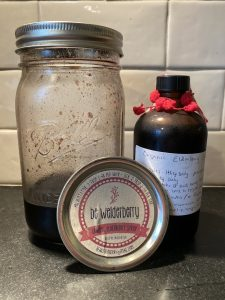BeWelderberry Syrup and Sevin's Organic Elderberry Syrup - local in Atlanta