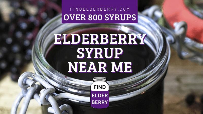 Elderberry Syrup Near Me List Local Homemade