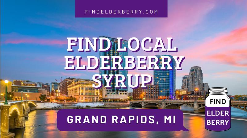 Elderberry Syrup Grand Rapids Michigan