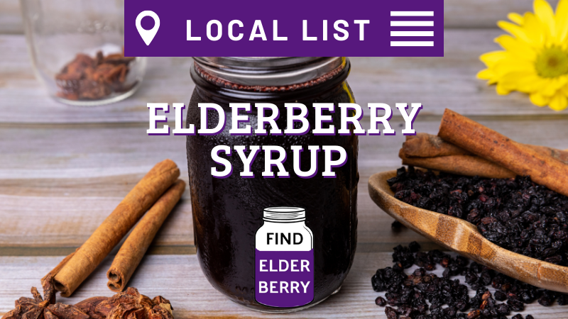 local list elderberry products near me